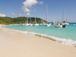 Popular Moorings For Bareboaters and Charter Sail, White Bay, Jost Van Dyke, Bvi by Trish Drury