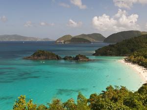 Underwater Snorkeling Trail, St John, United States Virgin Islands, USA, US Virgin Islands by Trish Drury