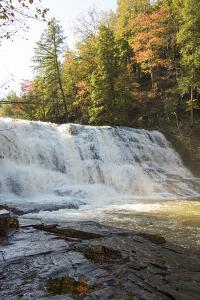 USA, Tennessee. Cane Creek Cascades in Fall Creek Falls State Park by Trish Drury