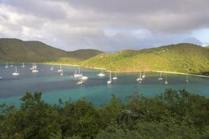 Usvi, St John. Maho Bay Popular Mooring Location and Snorkeling Site by Trish Drury