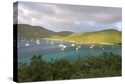 Usvi, St John. Maho Bay Popular Mooring Location and Snorkeling Site