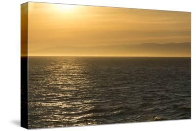 Washington, Canada, British Columbia. Strait of Juan De Fuca, Vancouver Island, Evening Light