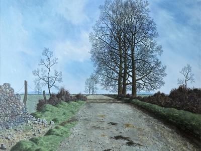 January Landscape, Somerset, 1962