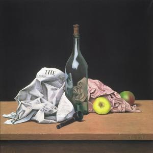The Green Bottle, 1950 by Tristram Paul Hillier