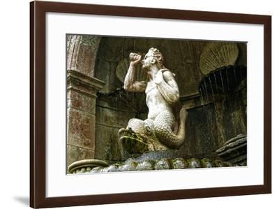 Triton Fountain, Santuário De Nossa Senhora Dos Remédios, Lamego, Portugal 1738--Framed Photographic Print