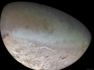Triton, the Largest Moon of Planet Neptune-Stocktrek Images-Photographic Print