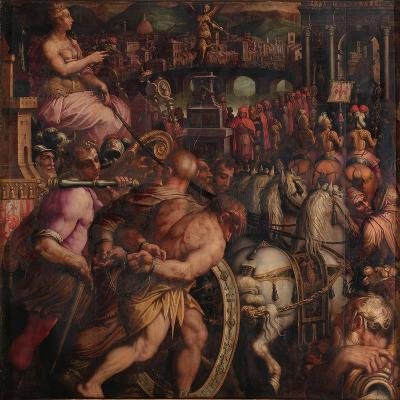 Triumph after the Victory of Pisa, 1563-1565-Giorgio Vasari-Giclee Print