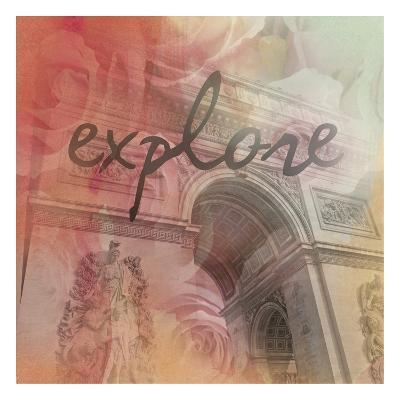 Triumph Explore-Victoria Brown-Art Print