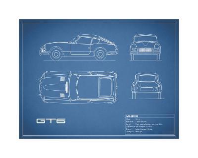 Triumph GT6 Mk1 Red-Mark Rogan-Giclee Print
