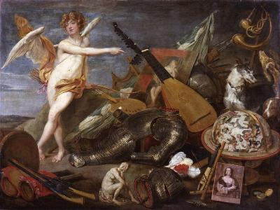 Triumph of Love and Beauty-Thomas Willeboirts-Giclee Print