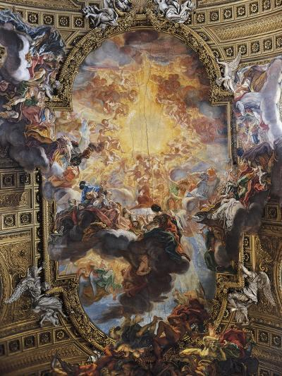 Triumph of Sacred Name of Jesus, Fresco by Giovanni Battista Gaulli known as Baciccio--Giclee Print