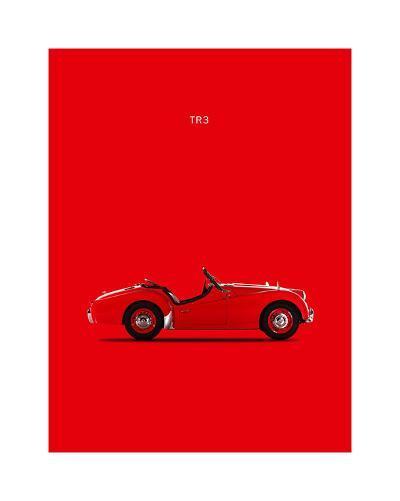 Triumph TR3 1959-Mark Rogan-Giclee Print
