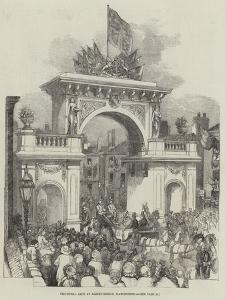 Triumphal Arch at Albert-Bridge, Manchester