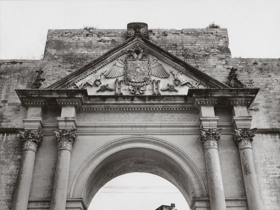 Triumphal Arch in Honor of Carlos V, in Lecce-A^ Villani-Photographic Print