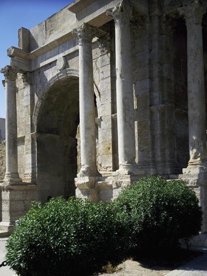 Triumphal Arch known as Arco Di Caracalla at Roman Ruins of Tebessa, Algeria, 3rd Century--Giclee Print