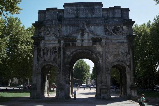 Triumphal Arch of Orange, 1st century-Unknown-Photographic Print