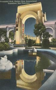 Triumphal Arch, World's Fair, San Francisco, California