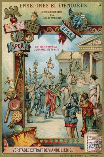 Triumphal Entry of a Roman Captain--Giclee Print