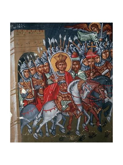 Triumphal Entry of Constantine to Rome, 1494-Philippos Goul-Giclee Print