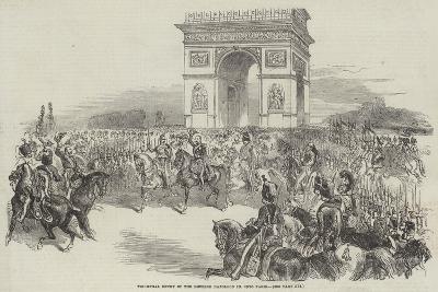 Triumphal Entry of the Emperor Napoleon III into Paris--Giclee Print