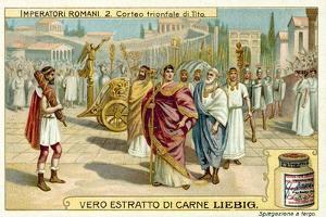 Triumphal Procession of Titus, Rome