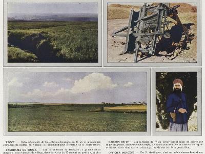 Trocy, Caisson De 77, Panorama De Trocy, Officier Indigene-Jules Gervais-Courtellemont-Photographic Print