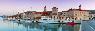 Trogir's Historic Stari Grad (Old Town) Defensive Walls and Harbour, Trogir, Dalmatia, Croatia-Doug Pearson-Photographic Print