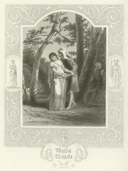Troilus and Cressida, Act III, Scene II-Joseph Kenny Meadows-Giclee Print