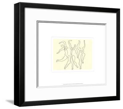 Trois Danseuses, c.1924-Pablo Picasso-Framed Art Print
