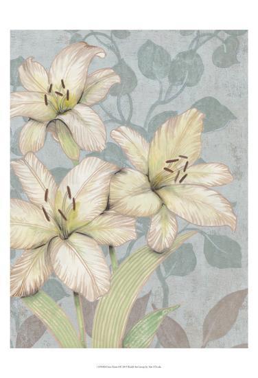 Trois Fleurs I-Tim OToole-Art Print