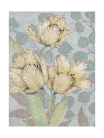 Trois Fleurs II-Tim OToole-Art Print