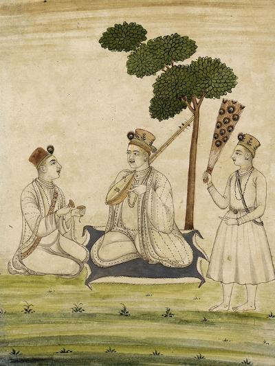 Trois religieuse krisnaïtes--Giclee Print