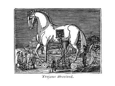 Trojans Deceived, 1830--Giclee Print