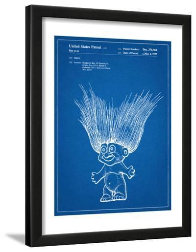 Troll Doll Patent--Framed Art Print