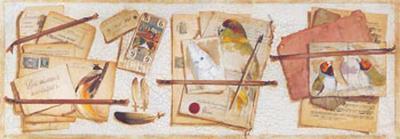 Trompe l'Oeil au Tarot-Pascal Cessou-Art Print