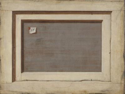 Trompe L'Oeil, the Reverse of a Framed Painting, 1668-1672-Cornelis Norbertus Gijsbrechts-Giclee Print