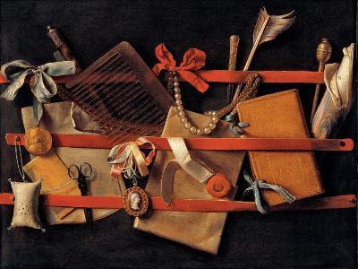 Trompe L'oeil-Samuel Dirksz van Hoogstraten-Giclee Print