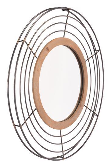 Tron Mirror Antique--Wall Mirror