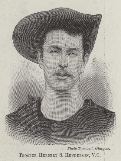 Trooper Herbert S Henderson--Giclee Print