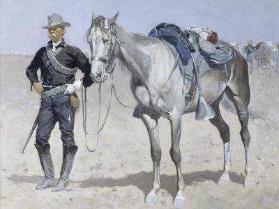 Trooper of the Plains-Frederic Sackrider Remington-Giclee Print