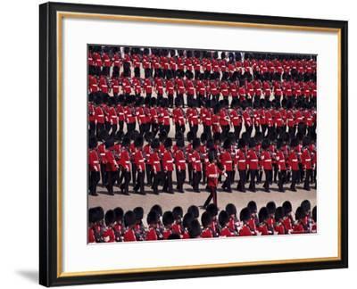 Trooping the Colour, London, England, United Kingdom-Hans Peter Merten-Framed Photographic Print