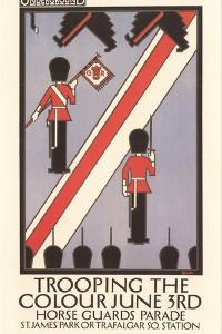 Trooping the Colour Poster