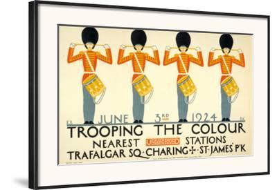 Trooping the Colour--Framed Art Print