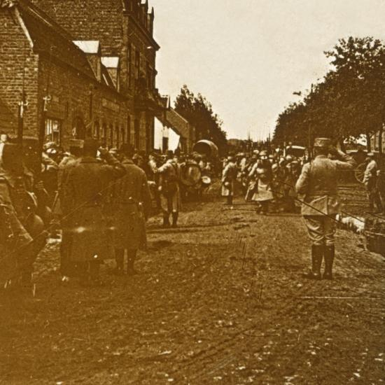 Troops leaving, c1914-c1918-Unknown-Photographic Print