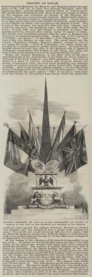 Trophy Erected by the English Residents at Dinan in Honour of the Visit of the Emperor and Empress --Giclee Print