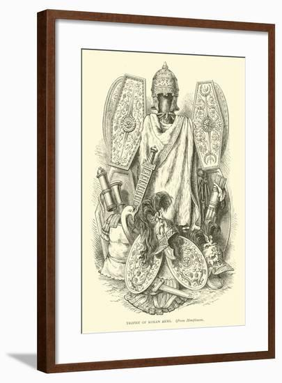 Trophy of Roman Arms--Framed Giclee Print