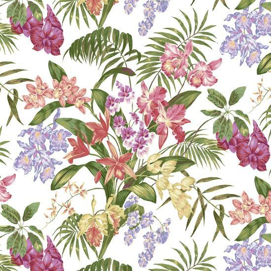 Tropic Bouquet Multi-Bill Jackson-Giclee Print