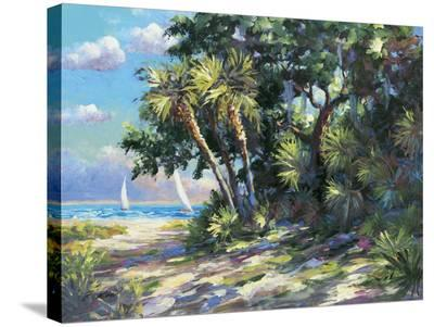 Tropic Breeze- E. Wood-Stretched Canvas Print