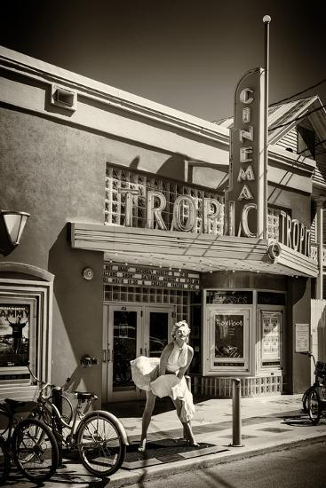 Tropic Cinema Key West - Florida-Philippe Hugonnard-Photographic Print