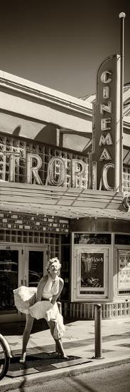 Tropic Cinema Key West - Florida-Philippe Hugonnard-Photographic Print